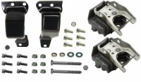 1969 Camaro Engine Steel Frame Mount & Motor Mount Kit  Fits: All BB Engines  Includes: Motor Mounts & Assembly Line Correct Mounting Hardware   USA MADE
