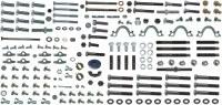 67 68 Camaro SB Master Engine Bolt Kit With AC 164 Pieces USA!