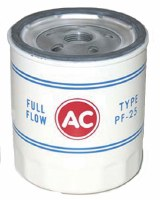 1968-1974 Camaro Oil Filter PF-25  With AC Delco Red Logo OE Quality!