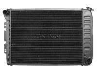 67 68 69 Camaro & Firebird SB 3 Core Radiator Assembly w/Auto With AC