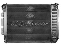 67 68 69 Camaro & Firebird SB 4 Core Raditaor Assembly w/Manual