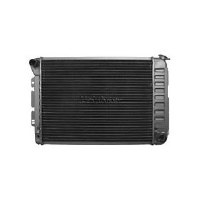 67 68 69 Camaro & Firebird BB 4 Core Radiator Assembly Straight Neck w/Manual