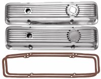 1969-81 Camaro Aluminum Valve Covers SB 302 Z/28 350 Polished