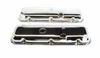 1967-74 Camaro Chevelle Nova BB Chrome Valve Covers