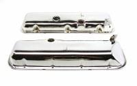 1967-74 Camaro Chevelle Nova BB Chrome Valve Covers w/PBSlant