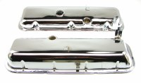1969 Camaro Chevelle Nova BB Chrome Valve Covers 396 427 Correct OE Quality USA!
