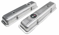 69 70 71 72 73 74 Camaro 302 Z/28 & 350 LT-1 Z/28  Finner Aluminum Valve Covers  Manufactured from Original GM Tooling