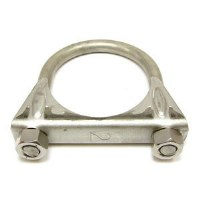 67 68 69 70 71 72 73 74 75 76 77 78 79 Camaro & Firebird Exhaust Clamp Saddle Style Stainless Steel  2""