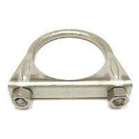 67 68 69 70 71 72 73 74 75 76 77 78 79 Camaro & Firebird Exhaust Clamp Saddle Style Stainless Steel  2-1/4""