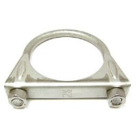 67 68 69 70 71 72 73 74 75 76 77 78 79 Camaro & Firebird Exhaust Clamp Saddle Style Stainless Steel  2-1/2""