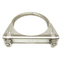 67 68 69 70 71 72 73 74 75 76 77 78 79 Camaro & Firebird Exhaust Clamp Saddle Style Stainless Steel 3""
