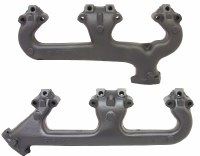 1969-1970 Camaro Chevelle Nova SB Exhaust Manifolds With Smog  302 307 327 350