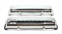 1967 Camaro Valve Covers Chrome Fits: 302 Z/28 SS-350 GM# 3903395