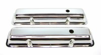 1968 Camaro Valve Covers Chrome Fits: 302 Z/28 SS-350 GM# 3923226