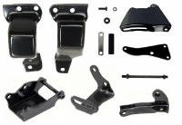 1969 Camaro Engine Installation Bracket Kit BB Fits: 396 402 427 454  Includes: Frame Mounts Alternator Brackets & Power Steering Brackets