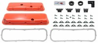 67 68 69  Camaro BB Painted Valve Cover Kit w/Oil Drippers 396 402 427 454