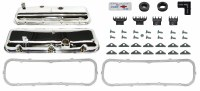 68 69 70 71 72 Camaro BB Chrome Valve Cover Kit With Drippers  Fits: 396-375 HP 427- 425 HP COPO YENKO ZL-1