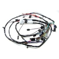 1967 Camaro Headlight Wiring Harness 6 Cyl RS & Warning Lights