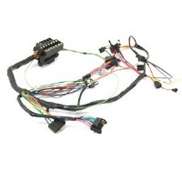 1967 Camaro  Under Dash Wiring Harness MT Warning Lights & Without Console