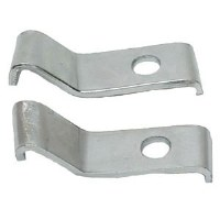 1969 Camaro Bumper Guard Mounting Brackets  Front Pair