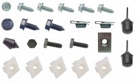 1969 Camaro Front & Rear License Plate Installation Hardware Kit Correct