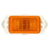 1969 Camaro Side Marker Lamp Orange Front Lens  GM# 916813