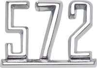 1967 Camaro  Front Fender Emblem 572 RH Or LH Sold As Each