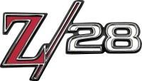1969 Camaro Z/28 Front Fender Emblem  Original GM