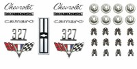 1967 Camaro Standard 327 Emblem Kit  OE Quality!