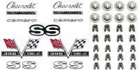 1967 Camaro SS 396 Emblem Kit For Super Sport 396  OE Quality!