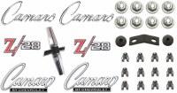 1968 Camaro Z/28 Standard Emblem Kit  OE Quality!