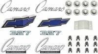 1969 Camaro Standard 327 Emblem Kit  OE Quality!