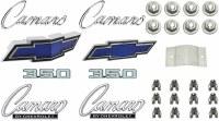 1969 Camaro Standard 350 Emblem Kit  OE Quality!