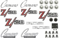 1969 Camaro Z/28 Standard Emblem Kit  With Cowl Induction  OE Quality!