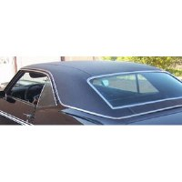 67 68 69 Camaro & Firebird Vinyl Top Original Style Levant Grain OE Black