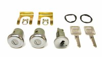 1967 Camaro & Firebird Ignition & Door Lock Set w/Square GM Keys