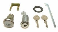 1967 Camaro & Firebird Glove Box Lock & Trunk Lock Kit & Original Keys