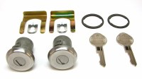 67 68 Camaro & Firebird Door Lock Set w/Original Style Keys