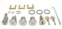 1968 Camaro & Firebird Complete Lock Kit Ignition Doors Glove Box & Trunk Locks