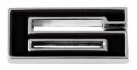 1967-81 Camaro Chevrolet Emblem Numeral 6 Black OE Quality! Self Adhesive Each
