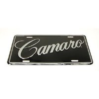 "1962-81 Camaro   License Plate ""Camaro"""