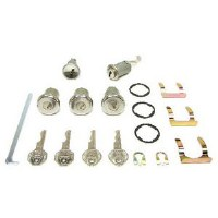 1967 Camaro & Firebird Complete Lock Kit   Includes: Assembly Line Correct  Ignition Doors Glove Box and Trunk Locks