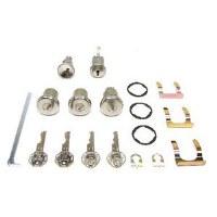 1967 Camaro & Firebird Complete Lock Kit Ignition Doors Glove Box & Trunk Locks