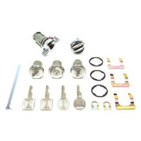 1969 Camaro Complete Lock Kit   Includes: Assembly Line Correct  Ignition Doors Glove Box and Trunk Locks
