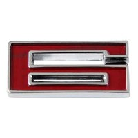 1967-81 Camaro Chevrolet Emblem Numeral 6 Red OE Quality! Self Adhesive Each