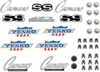 1968 Camaro Emblem kit  427 Yenko w/Std