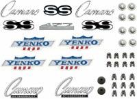1968 Camaro 427 Yenko Rally Sport Emblem Kit  OE Quality!