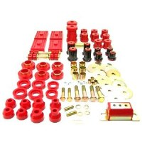 67 68 69  Camaro & Firebird Urethane Front & Rear Suspension Kit w/Multi Red