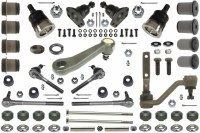 68 69 Camaro Major Front Suspension Kit w/Fast Manual Steering OE Style!