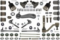 1968 1969 Camaro Monster Front Suspension Kit With Fast Ratio Power Steering  OE Quality  Made In The USA!